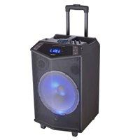 Karaoke DENVER TSP-404, 40W, disco LED, bluetooth, USB, baterija, mikrofon