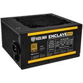 Napajanje 500W, KOLINK Enclave, ATX, 120mm vent. 80+ Gold, modularno