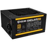Napajanje 600W, KOLINK Enclave, ATX, 120mm vent. 80+ Gold, modularno