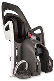 Dječja sjedalica HAMAX Caress, stražnja montaža na prtljažnik, sivo/bijela/crna
