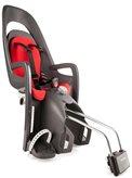 Dječja sjedalica HAMAX Caress, stražnja montaža na ramu, sivo/crvena