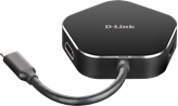 Docking station D-LINK DUB-M420, USB-C na 2x USB 3.0, 1x USB-C, HDMI, za notebook