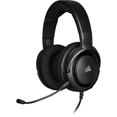 Slušalice CORSAIR HS 35 Gaming, mikrofon, crne