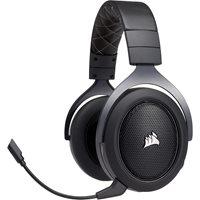 Slušalice CORSAIR HS70 Gaming, bežične, mikrofon, crne