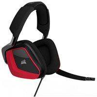 Slušalice CORSAIR Void Pro Premium Gaming, mikrofon, crno/crvene
