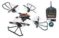 Dron JAMARA Oberon, HD kamera, brzina do 40km/h, upravljanje daljinskim upravljačem, crno/narančasti