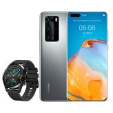 "Smartphone HUAWEI P40 PRO, 6,58"", 8GB, 256GB, Android 10, sivi + Huawei GT2 Watch - PREORDER"