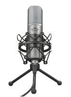 Mikrofon TRUST GXT 242 Lance, streaming, stolni, crni