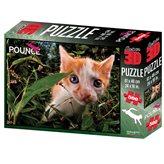 Slagalica HOW Puzzle 3D Mačka Pokemon 500 61X46cm