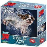 Slagalica HOW Puzzle 3D Pas Iggy 100kom 31X23cm