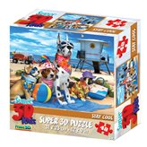Slagalica HOW Puzzle 3D Stay Cool 48kom 31X23cm