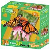 Slagalica NATIONAL GEOGRAPHIC Puzzle 3D Monarch 63kom 31X23cm