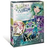 Kreativni set NEBULOUS STARS Glitter i folija art