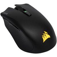 Miš CORSAIR Harpoon RGB, optički, 10000 dpi, bežični, crni, USB