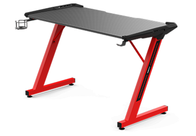 Gaming stol GAMDIAS DAEDALUS E2, mousepad, crveni