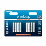 Baterija PANASONIC Eneloop BK4MCCE8B, tip AAA, punjive, 750 mAh, 8kom