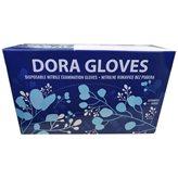 Zaštitne rukavice DORA, nitril, bez pudera, veličina 6-7, 100 kom
