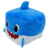 Plišana zvučna kocka BABY SHARK plava