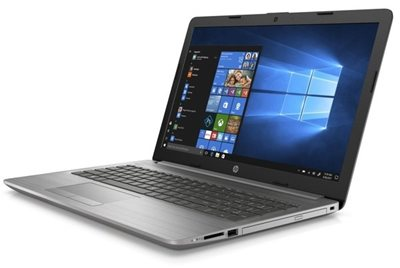 "Prijenosno računalo HP 250 3C140EA / Core i3 8130U, DVDRW, 8GB, 512GB SSD, HD Graphics, 15.6"" LED FHD, Windows 10, srebrno"