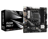 Matična ploča ASROCK B450M PRO4-F, AMD B450, mATX, s. AM4