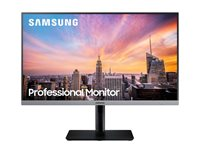 "Monitor 23.8"" LED SAMSUNG LS24R650FDUXEN, IPS, 5ms, 250cd/m2, 1.000:1, sivi"