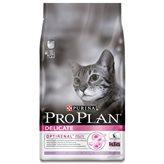 Hrana za mačke PURINA Pro Plan Delicate Adult, piletina, 1,5kg, za odrasle mačke s osjetljivom probavom