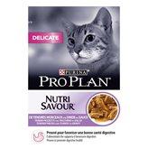 Hrana za mačke PURINA Pro Plan Delicate Adult, puretina, 85g, za odrasle mačke