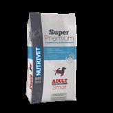 Hrana za pse NUTRIVET Superpremium Adult Small Dog 26/15, 15kg, za odrasle pse malih pasmina