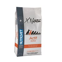 Hrana za pse NUTRIVET X nutrition ACTIVE 28/18, 15kg, za aktivne odrasle pse