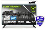 "LED TV 32"" ELIT L-3220ST2 SLIM, HD Ready, DVB-T2/C/S2, HDMI, USB, klasa A, 5 godina"