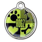 ID pločica ROZG Instant, 27mm, s uzorkom Lime juice