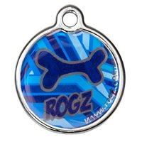 ID pločica ROZG Instant, 27mm, s uzorkom Mocha bone