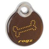 ID pločica ROZG Instant, 34mm, s uzorkom Bronze bone