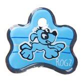 ID pločica ROZG Yoyo, 25mm, plava