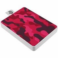 SSD vanjski 500 GB SEAGATE External One Touch Special Edition, STJE500405, 400 MB/s, USB 3.0, crveni