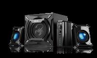 Zvučnici GENIUS SW-G2.1 2000 II, 2.1, 45W, crni