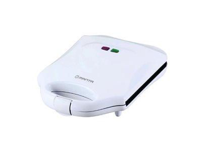 Toster preklopni MANTA SDW201, 1300W, LED indikator, neljepive ploče, bijeli