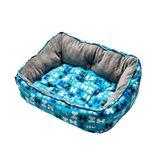 Krevet za pse ROGZ Trendy Pod, Blue Bones, 52x38x25cm