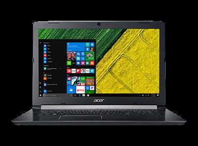 """Prijenosno računalo ACER Aspire 5 NX.H9GEX.004 / Core i3 7020U, 8GB, 256GB SSD, GeForce MX130, 17.3"""" FHD, FreeDOS, crno"""