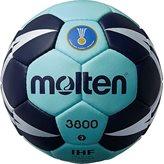 Rukometna lopta MOLTEN H3X3800 vel.2, sint. koža, plavo/modra