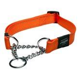 Poludavilica za pse ROGZ Reflective Stitching, reflektirajuća, narančasta, 56x2cm