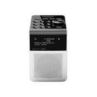 Prijenosni radio PANASONIC RF-D20BTEG-W, DAB+, Bluetooth, radio budilica, bijela
