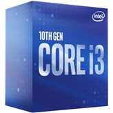 Procesor INTEL Core i3 10100 BOX, s. 1200, 3.6GHz, 6MB cache, Quad Core
