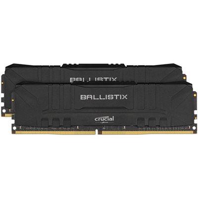 Memorija PC4-28800, 32 GB, CRUCIAL Ballistix Black BL2K16G36C16U4B, DDR4 3600MHz, kit 2x16GB