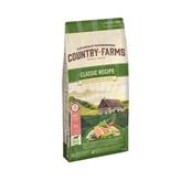 Hrana za pse COUNTRY FARMAS Classic Adult, losos, 12kg, za odrasle pse