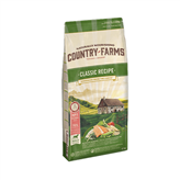 Hrana za pse COUNTRY FARMAS Classic Adult, losos, 2,5kg, za odrasle pse
