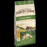 Hrana za pse COUNTRY FARMAS Classic Adult, piletina, 12kg, za odrasle pse