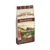 Hrana za pse COUNTRY FARMAS Grain Free Adult, govedina, 11kg, za odrasle pse