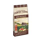 Hrana za pse COUNTRY FARMAS Grain Free Adult, govedina, 2,5kg, za odrasle pse