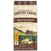 Hrana za pse COUNTRY FARMAS Grain Free Adult, piletina, 11kg, za odrasle pse